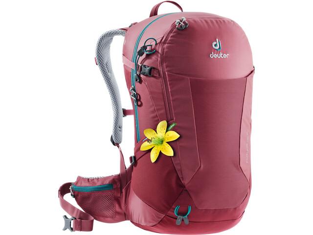Deuter Futura 26 SL Backpack Dam cardinal-cranberry